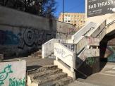 """Near the """"Cosmos Hotel"""" in Chisinau"""