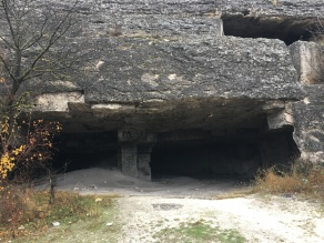 Quarry at Saharna Monastery