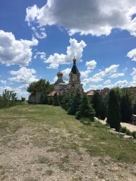 View of Orheiul Vechi Monastery