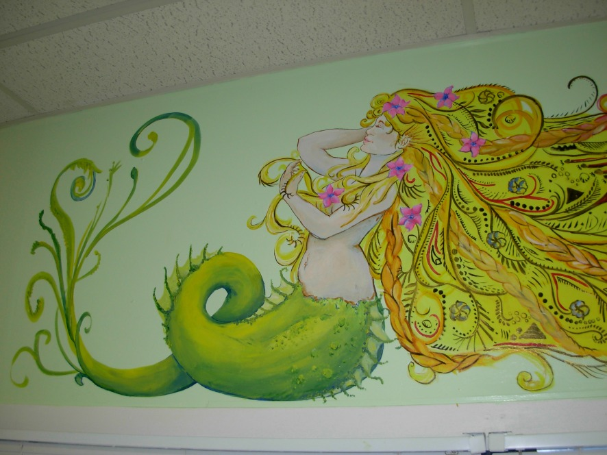 Mermaid Mural 1