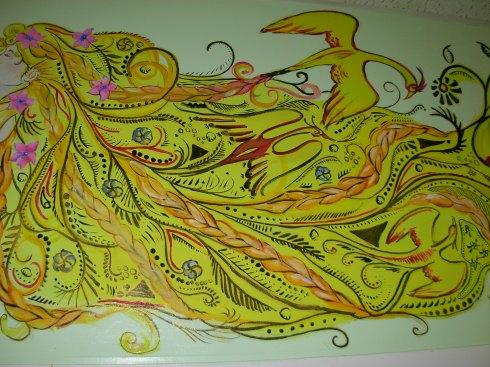 Mermaid Mural 2
