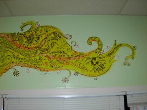 Mermaid Mural 4