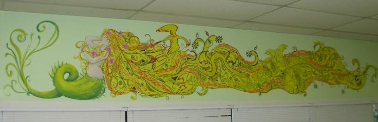 Mermaid Mural Full
